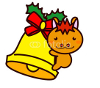 Christmas Bell-and-Animal Series クリスマスベルと動物シリーズ1
