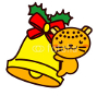 Christmas Bell-and-Animal Series クリスマスベルと動物シリーズ3