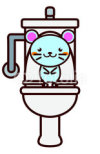 Toilet-and-Animal-Series-トイレと動物シリーズ1